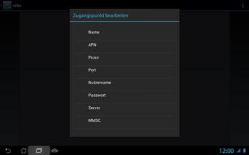 Asus Padfone 2 - MMS - Manuelle Konfiguration - Schritt 9