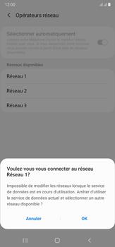 Samsung Galaxy Note 20 Ultra 5G - Réseau - Sélection manuelle du réseau - Étape 12