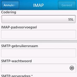 BlackBerry Q10 - E-mail - Handmatig instellen - Stap 11
