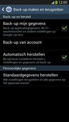 Samsung I9505 Galaxy S IV LTE - Resetten - Fabrieksinstellingen terugzetten - Stap 6