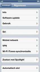 Apple iPhone 5 - Netwerk - Wijzig netwerkmodus - Stap 4