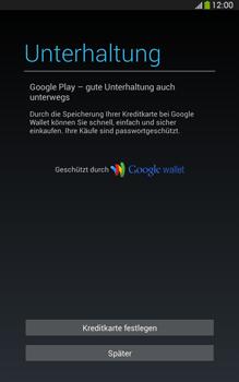 Samsung T315 Galaxy Tab 3 8-0 LTE - Apps - Konto anlegen und einrichten - Schritt 21