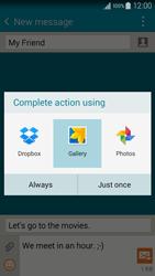 Samsung A300FU Galaxy A3 - MMS - Sending pictures - Step 15
