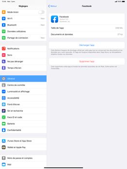 Apple iPad Pro 12.9 (2nd gen) - iPadOS 13 - Applications - Comment désinstaller une application - Étape 6