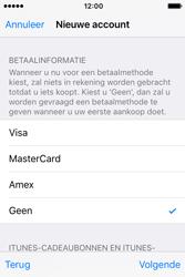 Apple iPhone 4S (iOS 9) - apps - account instellen - stap 19