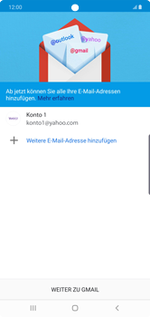Samsung Galaxy Note 10 Plus 5G - E-Mail - 032b. Email wizard - Yahoo - Schritt 14