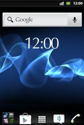 Sony Xperia Go - WLAN - Manuelle Konfiguration - Schritt 2