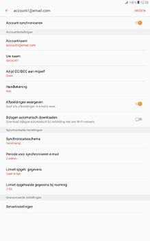 Samsung Galaxy Tab A 10.1 (SM-T585) - E-mail - Instellingen KPNMail controleren - Stap 9