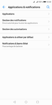 Huawei Y6 (2018) - Applications - Supprimer une application - Étape 4