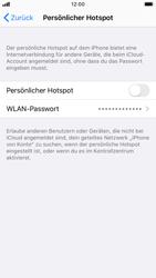 Apple iPhone 6s - iOS 13 - WiFi - So aktivieren Sie einen WLAN-Hotspot - Schritt 6
