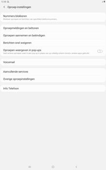 Samsung galaxy-tab-a-10-1-lte-2019-sm-t515 - Beveiliging en ouderlijk toezicht - Nummer blokkeren - Stap 6