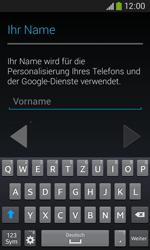 Samsung S7275 Galaxy Ace 3 - Apps - Konto anlegen und einrichten - Schritt 5