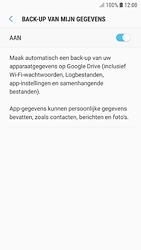 Samsung galaxy-s7-android-oreo - Instellingen aanpassen - Back-up maken in je account - Stap 8