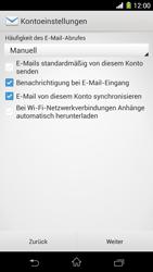 Sony Xperia Z1 - E-Mail - Konto einrichten - 16 / 20