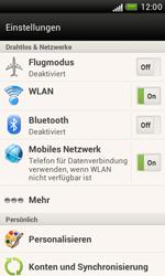 HTC T328e Desire X - Netzwerk - Netzwerkeinstellungen ändern - Schritt 4