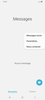 Samsung Galaxy A70 - SMS - configuration manuelle - Étape 6