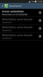Samsung I9301i Galaxy S III Neo - Anrufe - Rufumleitungen setzen und löschen - Schritt 11