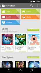 HTC One M8 - Apps - Installieren von Apps - Schritt 4