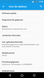 Sony Xperia Z3+ (E6553) - software - update installeren zonder pc - stap 5