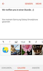 Samsung G389 Galaxy Xcover 3 VE - E-Mail - E-Mail versenden - Schritt 12