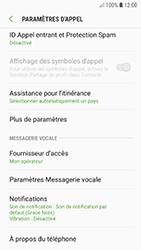 Samsung Galaxy A5 (2017) - Android Oreo - Messagerie vocale - configuration manuelle - Étape 8