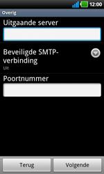 LG P920 Optimus 3D Speed - e-mail - handmatig instellen - stap 8