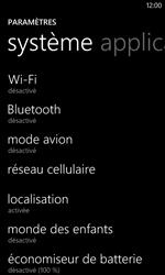 Nokia Lumia 625 - Internet et connexion - Désactiver la connexion Internet - Étape 4