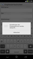 Sony Xperia Z1 Compact - E-Mail - Manuelle Konfiguration - Schritt 11