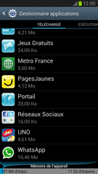 Samsung Galaxy S III LTE - Applications - Comment désinstaller une application - Étape 5
