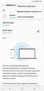 Samsung Galaxy Note 8 (SM-N950F) - WiFi - Mobiele hotspot instellen - Stap 9