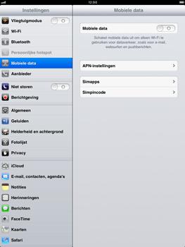 Apple iPad mini - Internet - handmatig instellen - Stap 4
