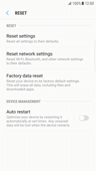 Samsung Galaxy S6 Edge - Android Nougat - Mobile phone - Resetting to factory settings - Step 6