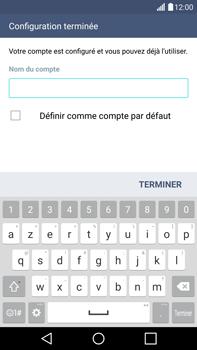 LG G4 - E-mails - Ajouter ou modifier votre compte Outlook - Étape 10
