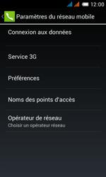 Alcatel One Touch Pop C3 - Réseau - Sélection manuelle du réseau - Étape 6