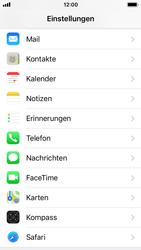 Apple iPhone SE - iOS 11 - Neue Datenschutz- und Sicherheitsfunktionen für Safari aktivieren - 0 / 0