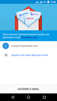 Acer Liquid Zest 4G Plus Double SIM - E-mail - Configuration manuelle (outlook) - Étape 14