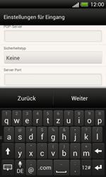 HTC One SV - E-Mail - Manuelle Konfiguration - Schritt 11