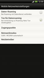 HTC One X - Netzwerk - Netzwerkeinstellungen ändern - 5 / 7