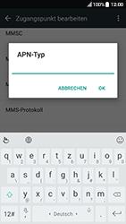 HTC 10 - MMS - Manuelle Konfiguration - 13 / 25