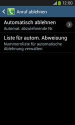 Samsung G3500 Galaxy Core Plus - Anrufe - Anrufe blockieren - Schritt 7