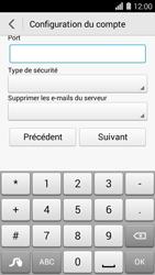 Huawei Ascend Y550 - E-mail - Configuration manuelle - Étape 11