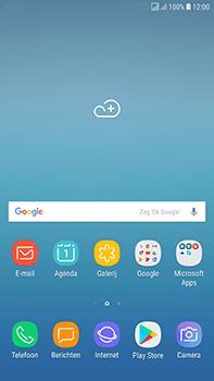 Samsung J730F Galaxy J7 (2017) (DualSIM) - SMS - handmatig instellen - Stap 1