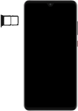 Huawei Mate 20 - SIM-Karte - Einlegen - Schritt 3