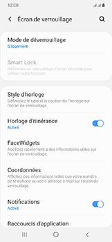 Samsung Galaxy A20e - Sécuriser votre mobile - Activer le code de verrouillage - Étape 5