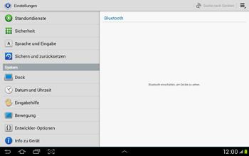 Samsung Galaxy Tab 2 10.1 - Gerät - Zurücksetzen auf die Werkseinstellungen - Schritt 4