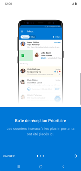 Samsung Galaxy Note 10 Plus 5G - E-mail - 032c. Email wizard - Outlook - Étape 11