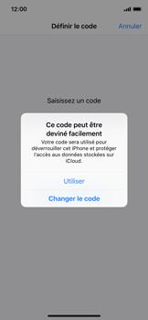Apple iPhone XS - Sécurité - activéz le code PIN de l'appareil - Étape 6