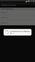HTC One S - Réseau - Sélection manuelle du réseau - Étape 10