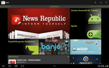 Samsung Galaxy Tab 2 10.1 - Apps - Einrichten des App Stores - Schritt 17