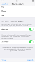 Apple iPhone 6s (iOS 10) - apps - account instellen - stap 17